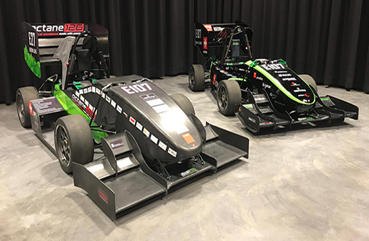 The Bern University of Applied Sciences race car for Formula Student 2019