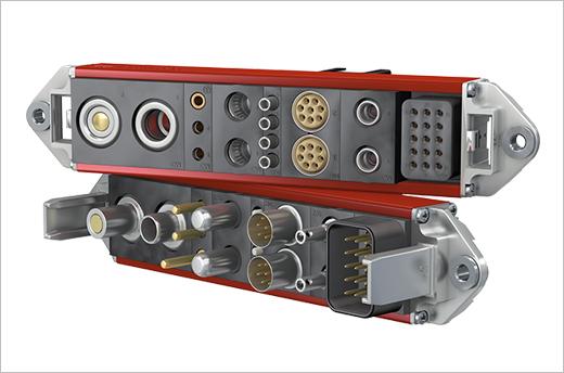 Stäubli CombiTac modular connector system