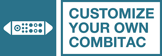 Her CombiTac  kullanıcı ihtiyacına göre web tabanlı konfigürasyon ara yüzü üzerinden kolayca dizayn edilebiliyor