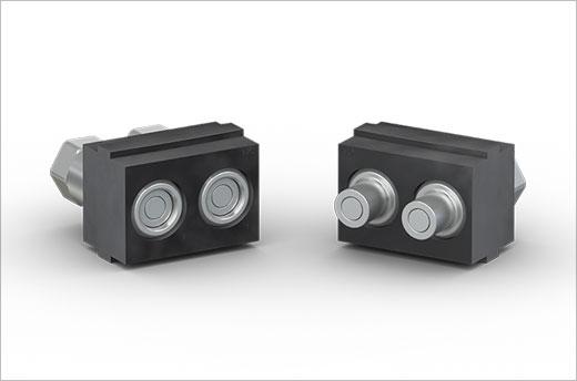 防漏型 CombiTac LCT06 冷却连接器能够安全高效地进行气动和流体转换。它们可同时用于外壳和面板安装应用,并且确保提供卓越的可靠性能。