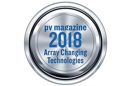 "Power-Blox is finalist for ""Array Change Technologies Award"" of PV Magazine"
