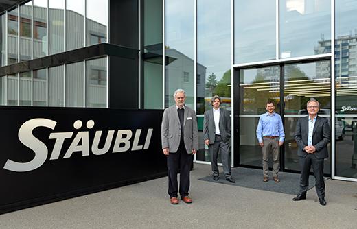 Besuch der Berner Fachhochschule BFH bei Stäubli in Allschwil