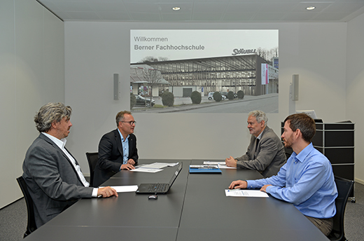Cooperation of Stäubli and Bern University of Applied Sciences (BFH)