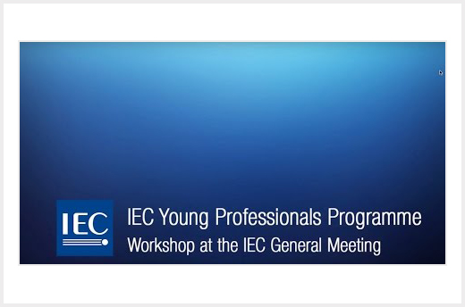Stäubli takes part in the IEC's Young Professionals Programme