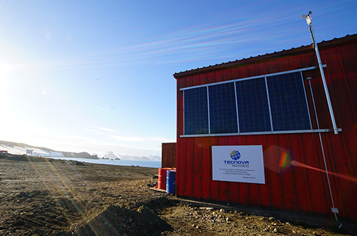 Installing solar power in the Antarctic has been a pioneering project of the Uruguayan government and is part of a program to extend the use of renewable energies. PV connectors from Stäubli ensure safe and reliable power transfer.