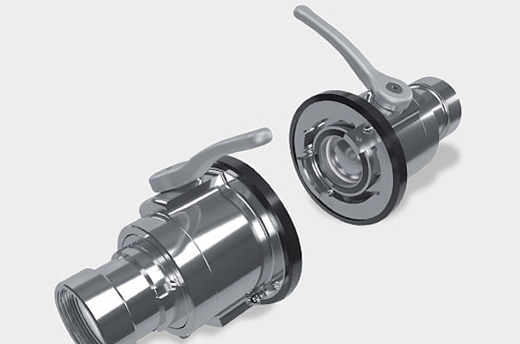 TKU/TKM - Stainless steel full-flow couplings