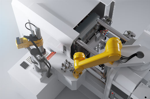 4- and 6-axis industrial robots