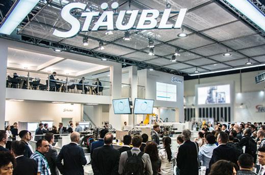 El stand de Stäubli en la K 2019