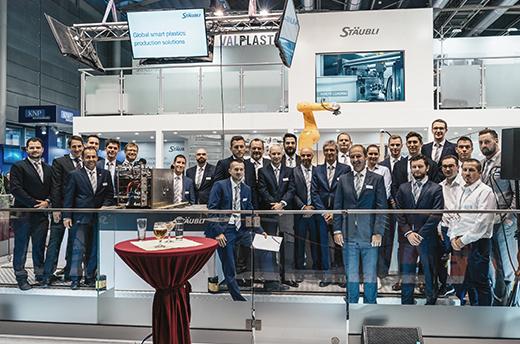 Veletržní tým Stäubli na MSV 2018