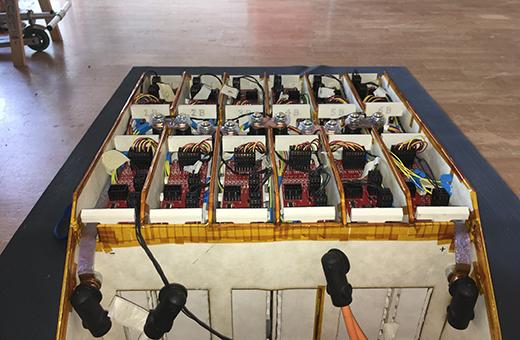 Connecteurs Stäubli pour voitures de course électriques