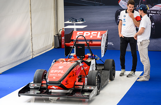 "EPFL's electric race car, ""Orion"""