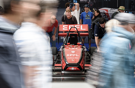 EPFL's electric race car