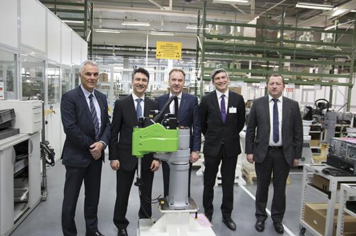 Partenariat Stäubli et Schneider Electric