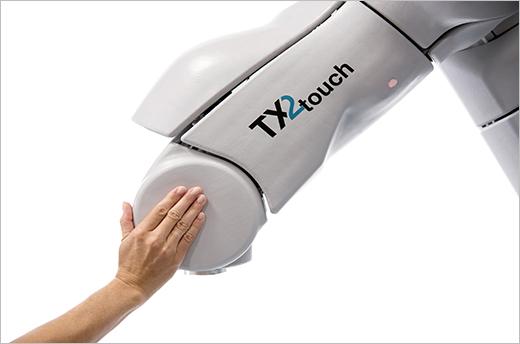 TX2 Touch robot met Airskin