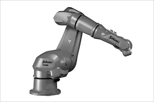 TX200L HE Sechsachs-Roboterarm für feuchte Umgebungen - Stäubli