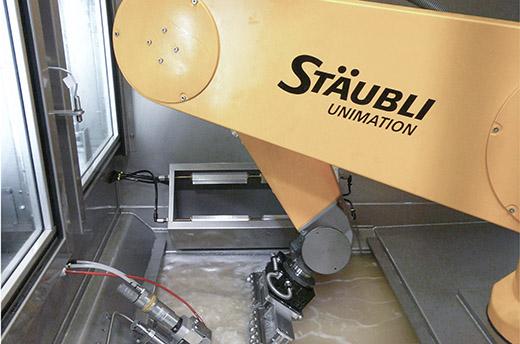 Reinigungsroboter von Stäubli: Die saubere Lösung