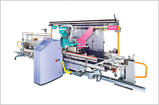 SAFIR automatic drawing-in machines boost flexibility and productivity in the weaving mill.