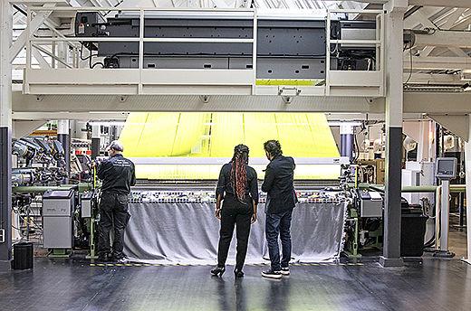 New Jacquard installation in TextielLab