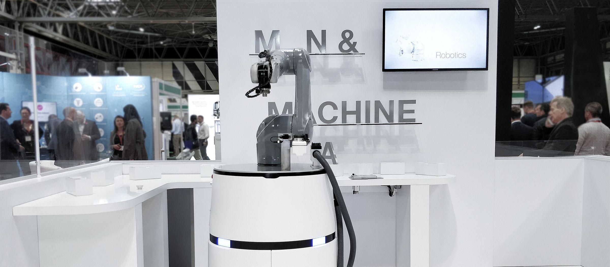 Stäubli's mobile robot system