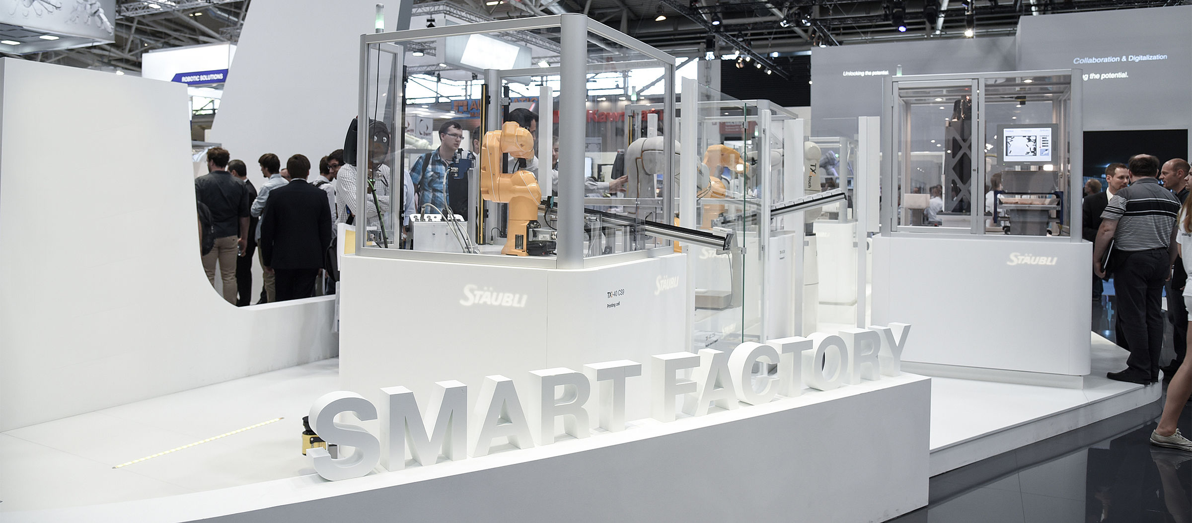 Stäubli AG - Staubli-robotics-Automatica-smart-factory-hip.jpg