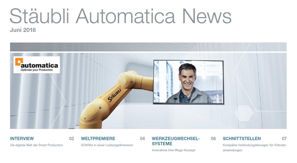 Stäubli Automatica News