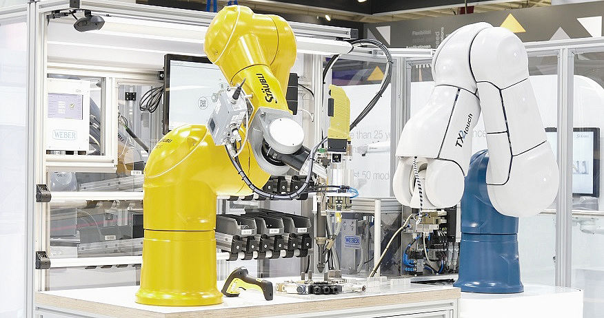 Smart Production auf der Automatica 2018