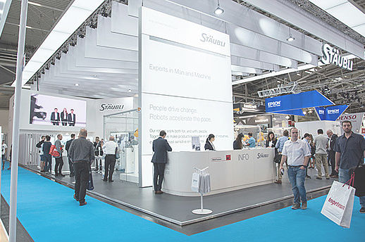 Stäubli Booth at Automatica