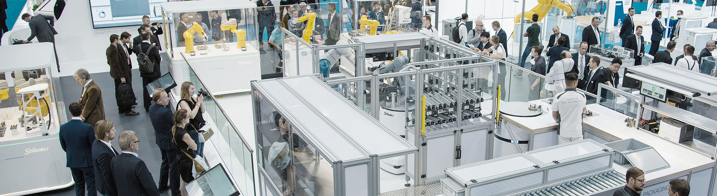 Smart production at Automatica 2018