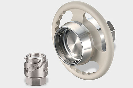 TCB - Non-spill coupling for wide media applications.