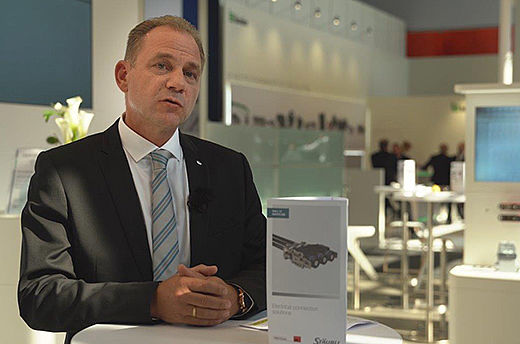 Michel Schmitt, product expert and Business Development Manager at Stäubli Electrical Connectors, explains how reliable connection solutions from Stäubli help improve operator safety and enhance productivity at InnoTrans 2018.
