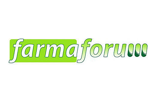 [Translate to Spanish:] Farmaforum, fair, logo, Madrid