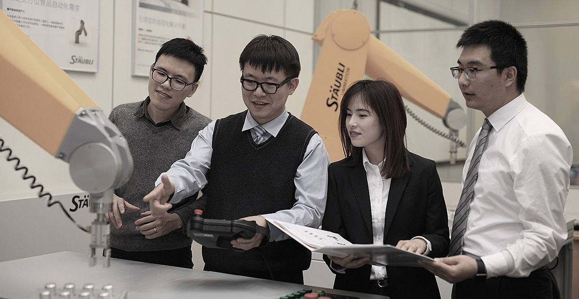 Stäubli Hangzhou Robotics Training Center