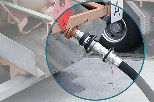 Stäubli's safety break-away couplings in action