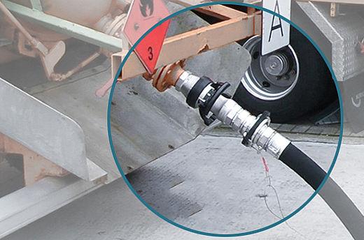 Stäubli's safety break-away couplings in action