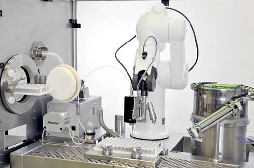 Cleanroom and sterile environments automation